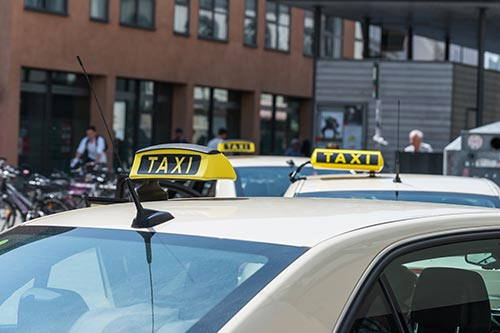 transport for london taxi cab licensing inspection vehicle laird assessors
